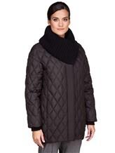 Куртка EREDA FABERGE 100% полиэстер Черный Италия изображение 3