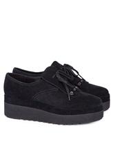 Ботинки What for WF178 100% кожа Черный Китай изображение 0