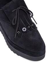 Ботинки What for WF178 100% кожа Черный Китай изображение 5