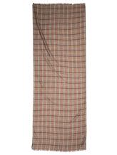 Шарф Colombo S90 73% кашемир, 27% шёлк Бежевый Италия изображение 2
