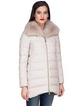 Куртка Herno PI0379D 51% шёлк, 49% кашемир Светло-бежевый Италия изображение 2