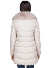 Куртка Herno PI0379D 51% шёлк, 49% кашемир Светло-бежевый Италия изображение 3
