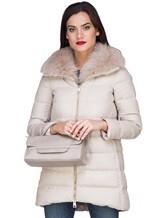 Куртка Herno PI0379D 51% шёлк, 49% кашемир Светло-бежевый Италия изображение 0