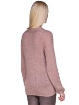Джемпер EREDA 17WEDSW100 63% шерсть, 25% полиамид, 12% полиэстер Грязно-розовый Италия изображение 4