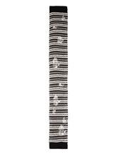 Шарф Lamberto Losani A258074 100% кашемир Черно-белый Италия изображение 2