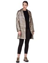 Пальто Herno CA0168D 47% акрил, 41% шерсть, 10% полиэстер, 2% фибра Бежевый Италия изображение 1
