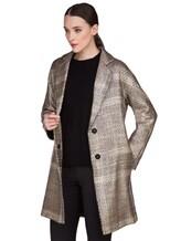 Пальто Herno CA0168D 47% акрил, 41% шерсть, 10% полиэстер, 2% фибра Бежевый Италия изображение 0