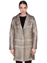 Пальто Herno CA0168D 47% акрил, 41% шерсть, 10% полиэстер, 2% фибра Бежевый Италия изображение 2