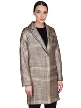Пальто Herno CA0168D 47% акрил, 41% шерсть, 10% полиэстер, 2% фибра Бежевый Италия изображение 3