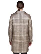 Пальто Herno CA0168D 47% акрил, 41% шерсть, 10% полиэстер, 2% фибра Бежевый Италия изображение 4