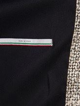 Пальто Herno CA0168D 47% акрил, 41% шерсть, 10% полиэстер, 2% фибра Бежевый Италия изображение 6