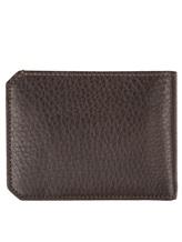Портмоне Santoni UFPPA1469 100% кожа Темно-коричневый Италия изображение 1