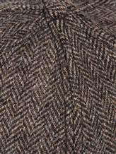 Бейсболка Stetson 7720502 85% шерсть, 15% полиамид Серо-коричневый Китай изображение 1