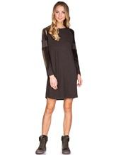 Платье Lamberto Losani 252177 80% шерсть, 10% кашемир, 10% шёлк Хаки Италия изображение 0