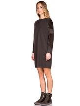 Платье Lamberto Losani 252177 80% шерсть, 10% кашемир, 10% шёлк Хаки Италия изображение 2