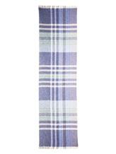 Шарф Fabio Toma 583 100% кашемир Сине-голубой Италия изображение 2