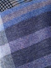 Шарф Fabio Toma 583 100% кашемир Сине-голубой Италия изображение 1