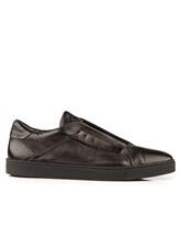 Кроссовки Santoni MBGU20563 100% кожа Черный Италия изображение 1