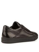 Кроссовки Santoni MBGU20563 100% кожа Черный Италия изображение 3