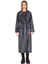 Пальто AVANT TOI 217D6401 85% шерсть, 15% кашемир Серо-синий Италия изображение 1