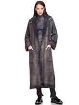 Пальто AVANT TOI 217D6401 85% шерсть, 15% кашемир Серый Италия изображение 0