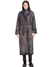Пальто AVANT TOI 217D6401 85% шерсть, 15% кашемир Серый Италия изображение 1