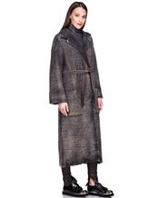 Пальто AVANT TOI 217D6401 85% шерсть, 15% кашемир Серый Италия изображение 2