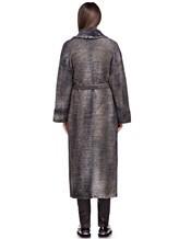 Пальто AVANT TOI 217D6401 85% шерсть, 15% кашемир Серый Италия изображение 3