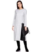 Платье Piazza Sempione PV023B0 98% шерсть, 2% эластан Светло-серый Италия изображение 0