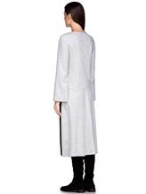 Платье Piazza Sempione PV023B0 98% шерсть, 2% эластан Светло-серый Италия изображение 3