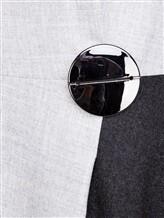 Платье Piazza Sempione PV023B0 98% шерсть, 2% эластан Светло-серый Италия изображение 4