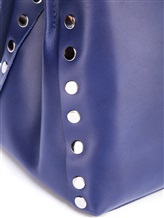 Сумка ZANELLATO 06134 100% кожа Синий Италия изображение 7