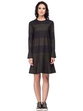 Платье Piazza Sempione PV011A0 75% шерсть, 23% нейлон, 2% эластан Хаки Италия изображение 1