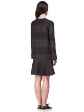 Платье Piazza Sempione PV011A0 75% шерсть, 23% нейлон, 2% эластан Хаки Италия изображение 3