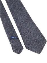 Галстук Fabio Toma TIE SILVER 100% шерсть Сине-серый Италия изображение 2
