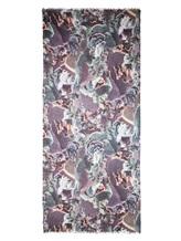 Палантин Re Vera 171815396DGpalantin 100% кашемир Фиолетово-коричневый Китай изображение 2