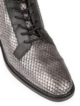 Ботинки What for WF478 100% кожа Темно-серый Китай изображение 5