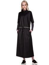 Платье EREDA E251528 88% шерсть, 10% полиамид, 2% эластан Черный Италия изображение 4