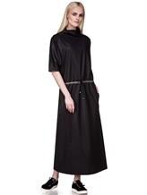 Платье EREDA E251528 88% шерсть, 10% полиамид, 2% эластан Черный Италия изображение 0