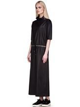 Платье EREDA E251528 88% шерсть, 10% полиамид, 2% эластан Черный Италия изображение 2