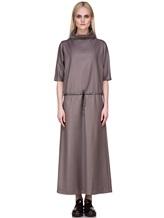 Платье EREDA E251528 88% шерсть, 10% полиамид, 2% эластан Какао Италия изображение 1