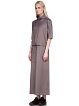 Платье EREDA E251528 88% шерсть, 10% полиамид, 2% эластан Какао Италия изображение 2