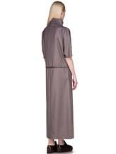 Платье EREDA E251528 88% шерсть, 10% полиамид, 2% эластан Какао Италия изображение 3