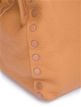 Сумка ZANELLATO 06134 100% кожа Светло-коричневый Италия изображение 6