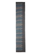 Шарф Missoni 6096 50% шерсть, 50% акрил Серо-голубой Италия изображение 2