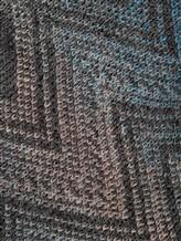 Шарф Missoni 6096 50% шерсть, 50% акрил Серо-голубой Италия изображение 1