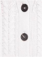 Кардиган Peserico S99124F03 70% шерсть, 20% шёлк, 10% кашемир Светло-серый Италия изображение 4