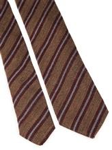 Галстук Stile Latino Napoli 148/7.5 90% шерсть, 10% шёлк Бордово-коричневый Италия изображение 2