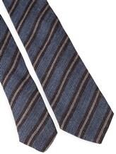 Галстук Stile Latino Napoli 148/7.5 90% шерсть, 10% шёлк Серо-синий Италия изображение 2
