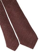 Галстук Stile Latino Napoli 148/7.5 90% шерсть, 10% шёлк Бордовый Италия изображение 2